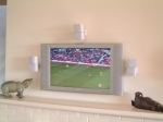 Fireplace LCD Mounting